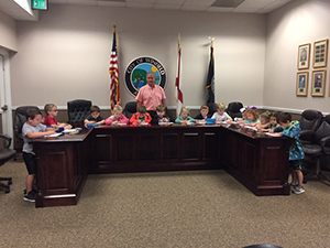 Pre-K Visit to City Hall