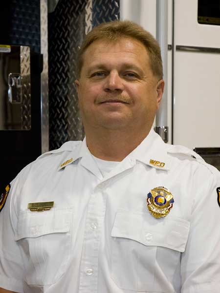 Fire Chief Alan Stovall