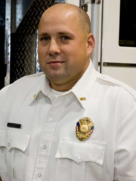 Assistand Fire Chief / Fire Marshall Dewayne Norris