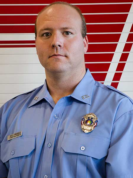 Will Riley - Firefighter, Training Officer